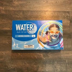 Water Sun & Fun Diving Hoops NIB